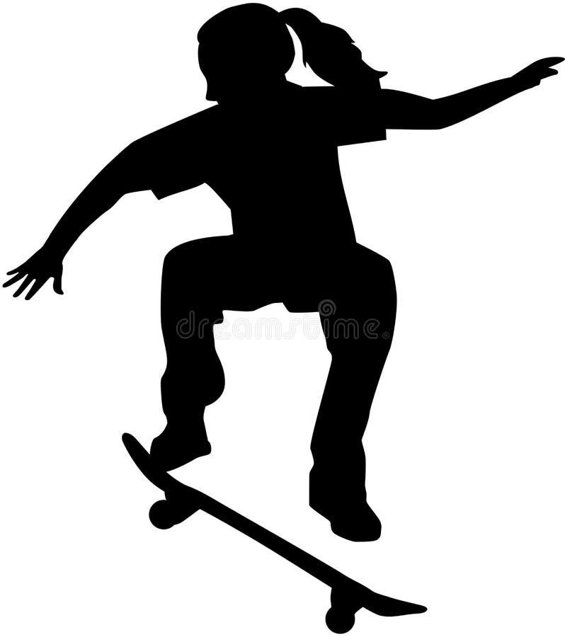 Free Female Skateboarder Royalty Free Stock Image - 106169466