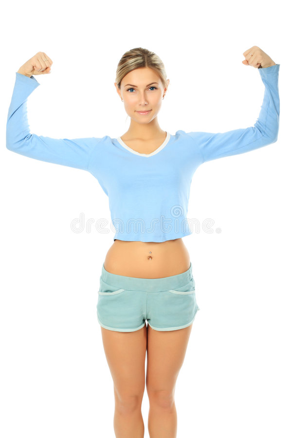 Female sports stock photography