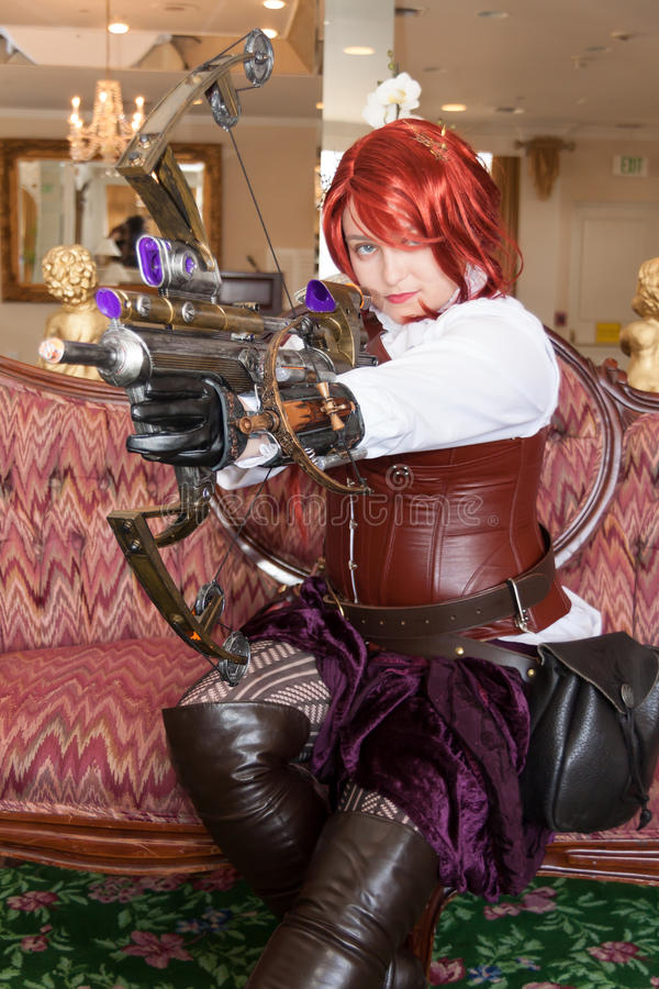 Download Female Steampunk Weapons Specialist Editorial Photography - Image: 25265482