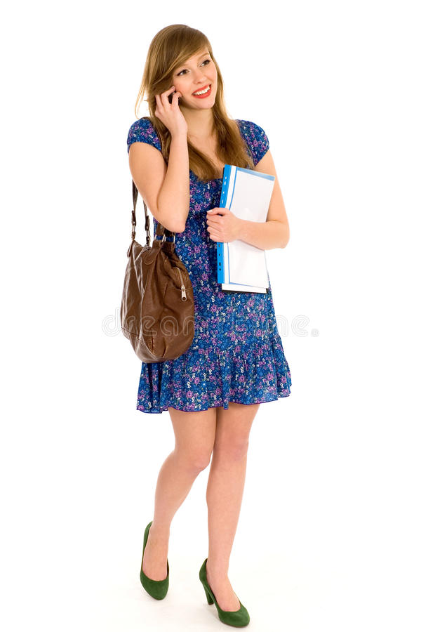 Download Female Student Royalty Free Stock Image - Image: 13126526