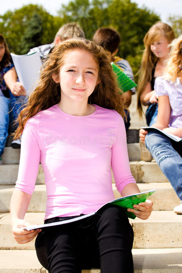Female Student Stock Images