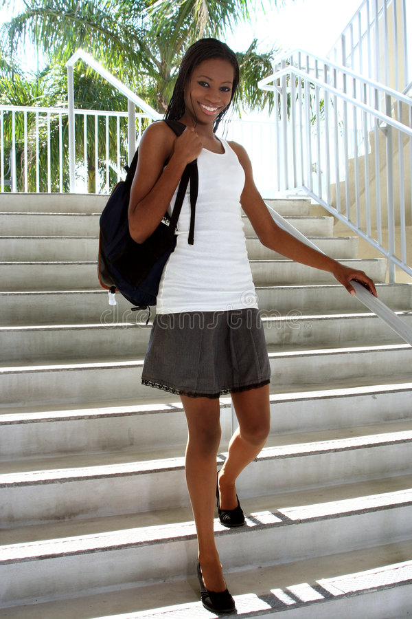 Download Female Student stock photo. Image of bright, future, lesson - 1650930