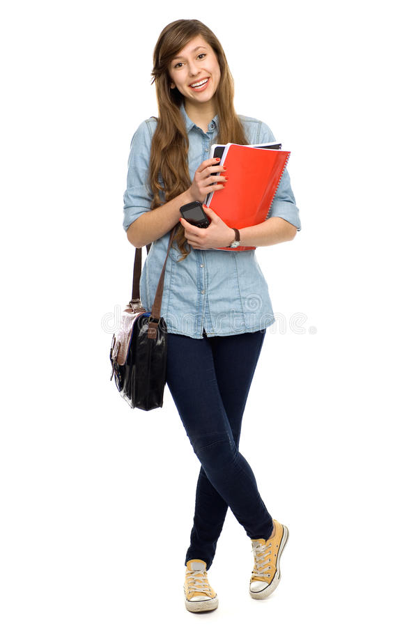 Download Female student stock image. Image of attractive, full - 22959989