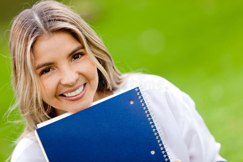 Download Female student stock photo. Image of joyful, lifestyle - 23390706