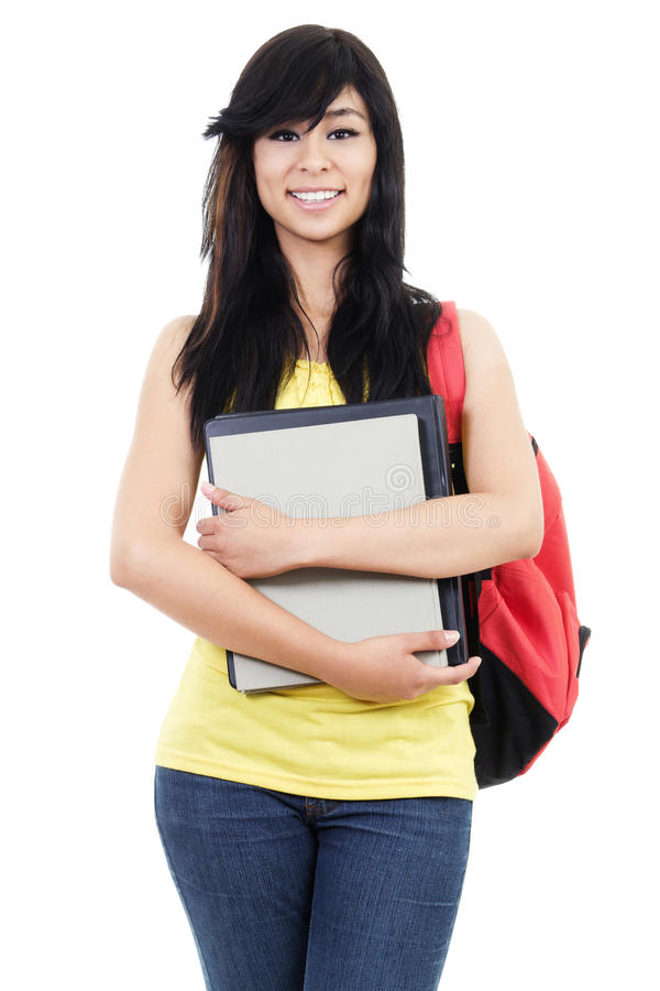 Download Female Student stock image. Image of happy, lifestyle - 26746805