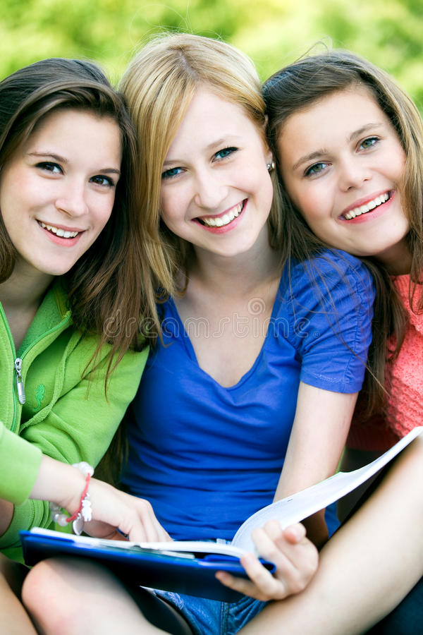 Female Students Royalty Free Stock Photography