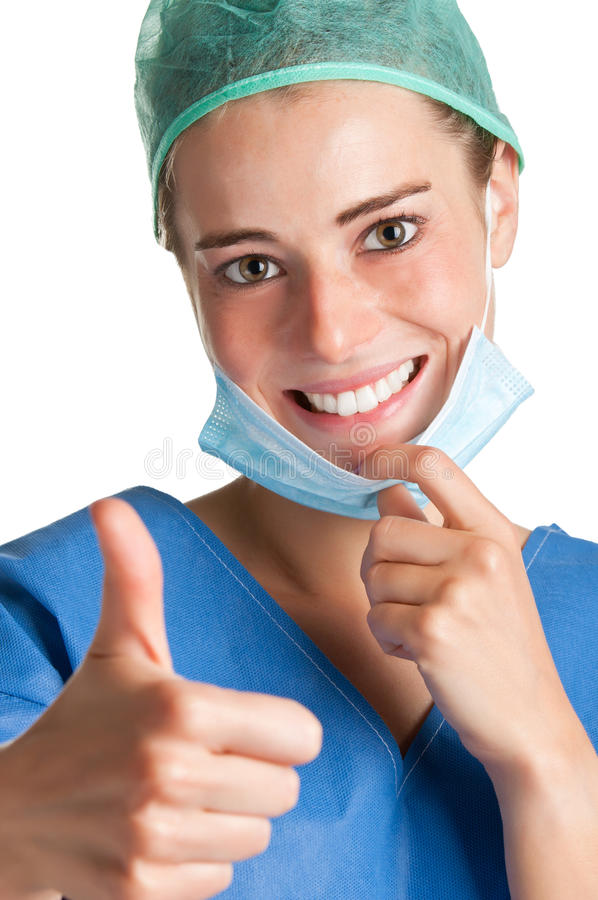 Download Female Surgeon stock image. Image of care, professional - 27310257