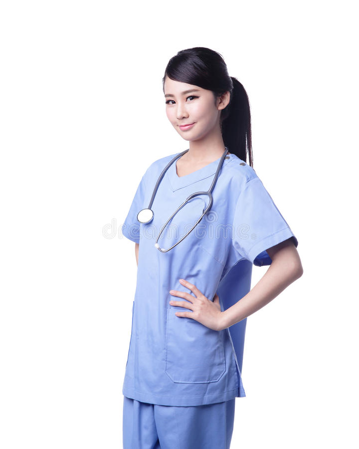 Female surgeon doctor royalty free stock photo