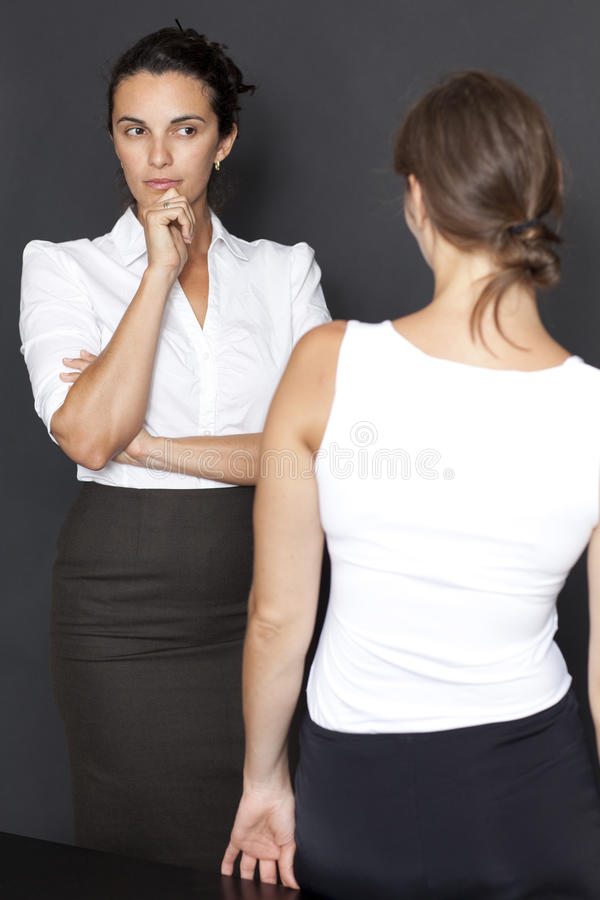 Download Female suspicion stock image. Image of looking, select - 23738097
