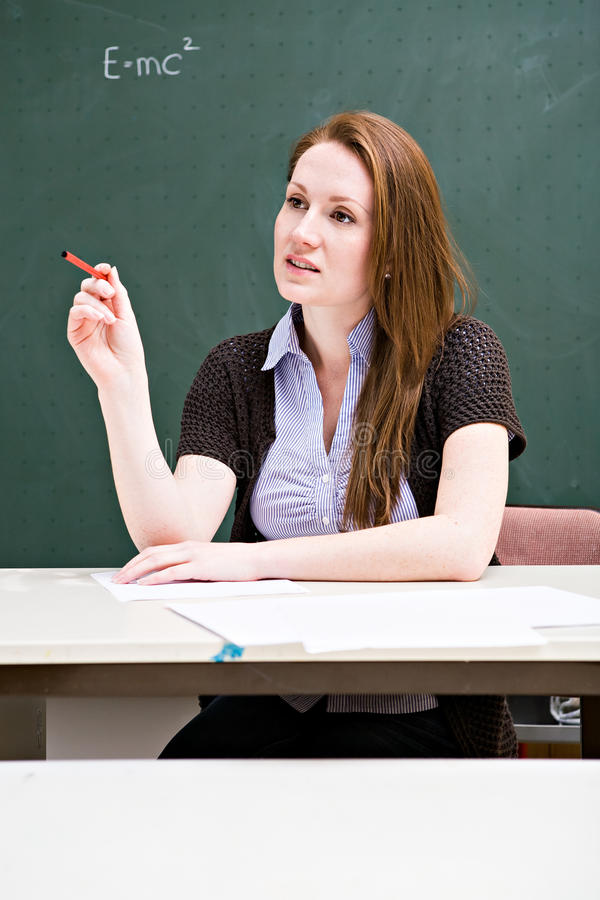 Download Female teacher stock photo. Image of adults, woman, intelligence - 24389418