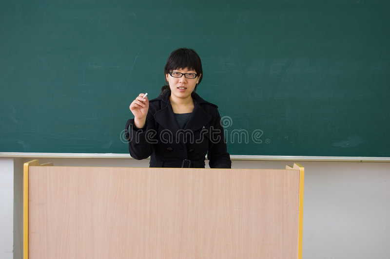 Download Female teachers stock photo. Image of chalk, teaching - 8647676