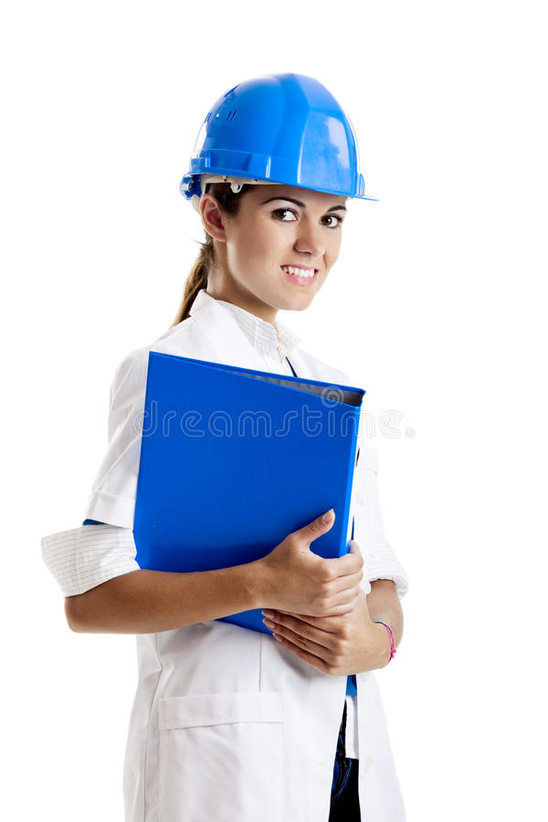 Download Female technician stock image. Image of manager, beauty - 11636329