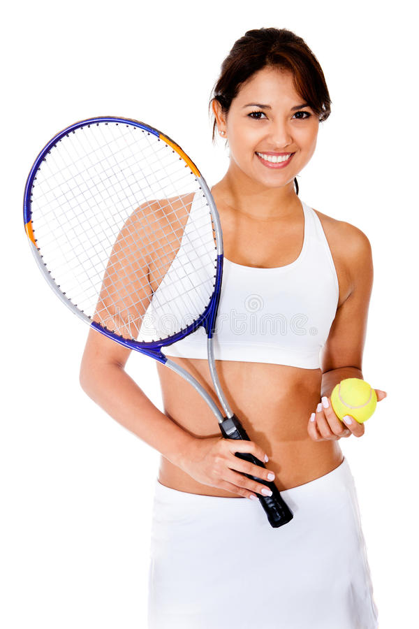 Download Female tennnis player stock photo. Image of pretty, 2012 - 24598514