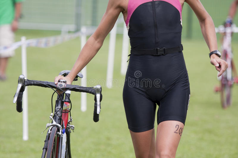 Download Female triathlete stock image. Image of women, combination - 15986501
