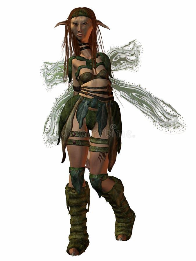Download Female Troll stock illustration. Illustration of monster - 7006775