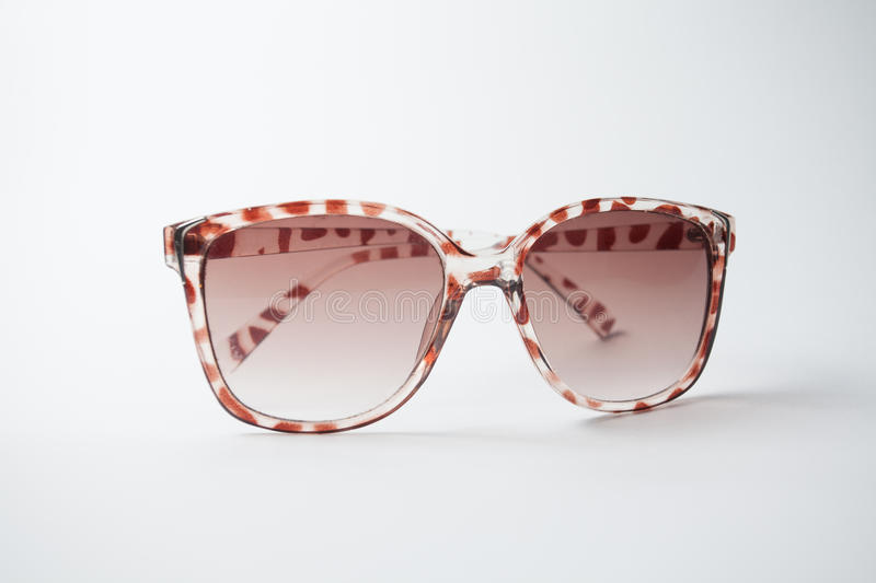 Female vintage sunglasses stock photo