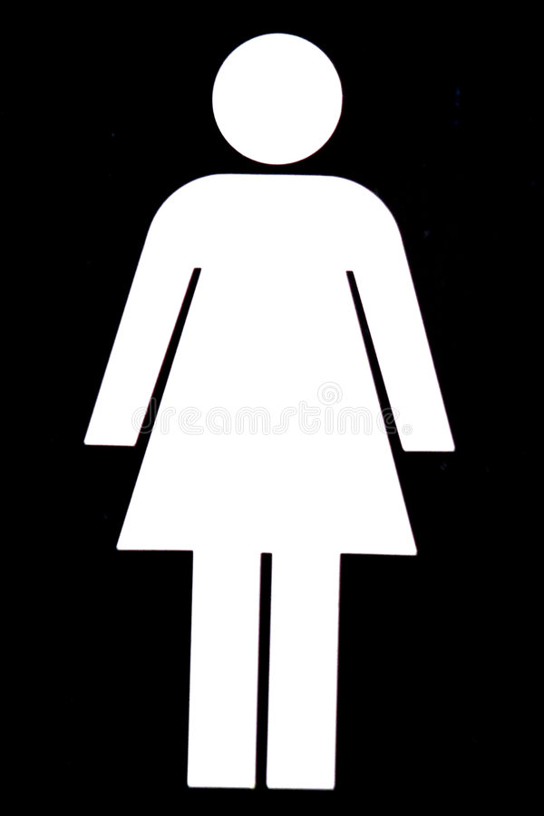 Female WC Stock Photo
