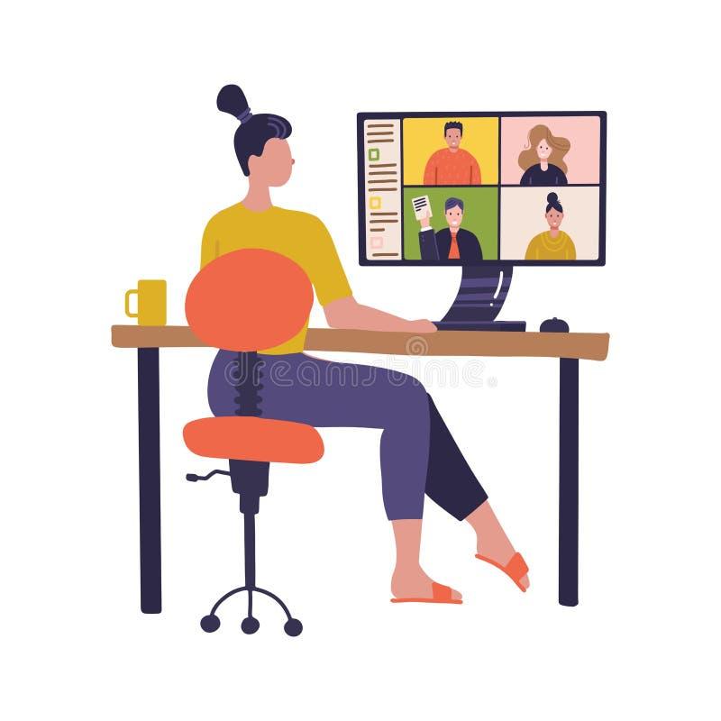 Virtual Meeting Stock Illustrations – 3,657 Virtual Meeting Stock ...