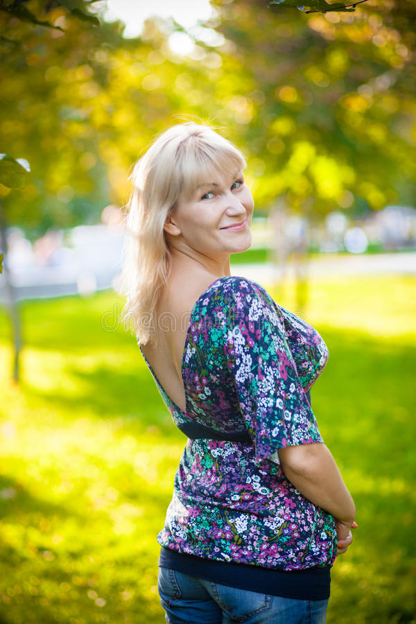 Pics Of Beautiful 40 Year Old Women Stock Photos, Pictures