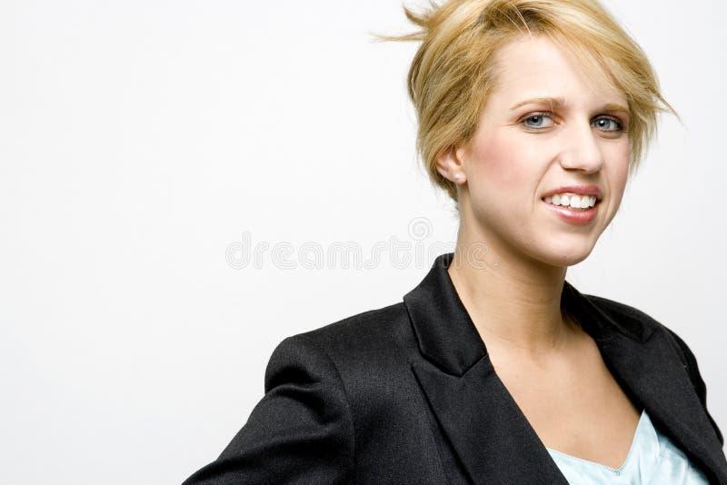 Femelle blonde photographie stock libre de droits