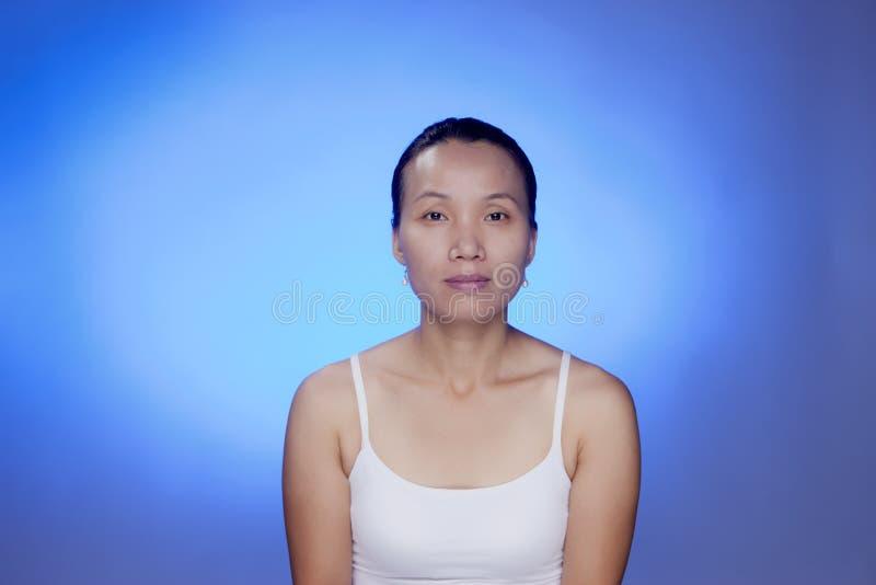 Femelle coréenne. images libres de droits