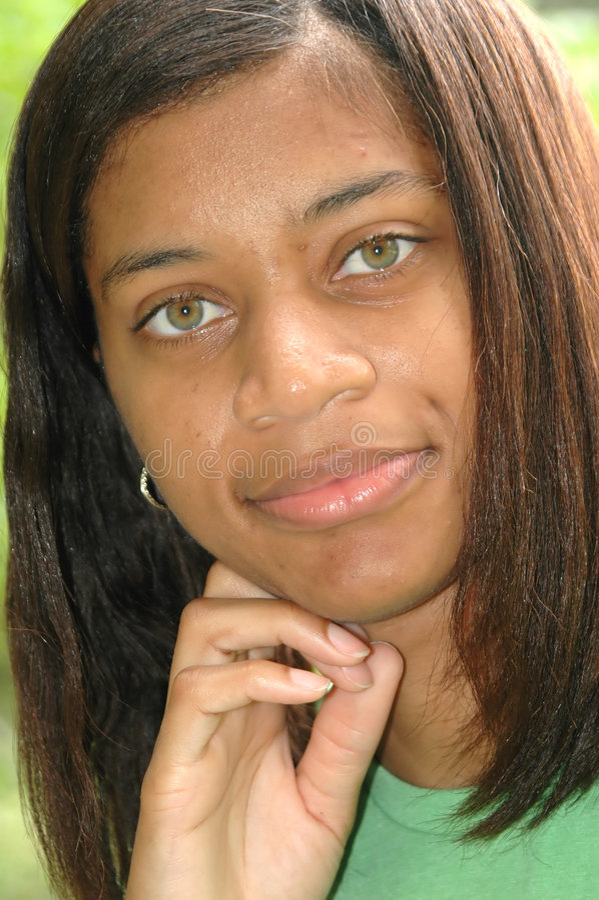 Femelle d'Afro-américain photos stock