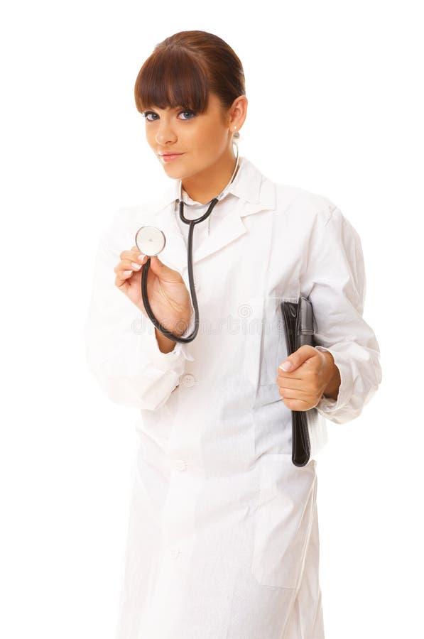 femelle de docteur images libres de droits
