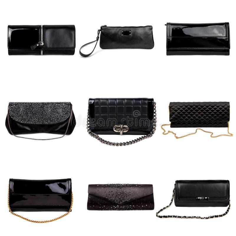 Femelle foncée purses-4 photos stock