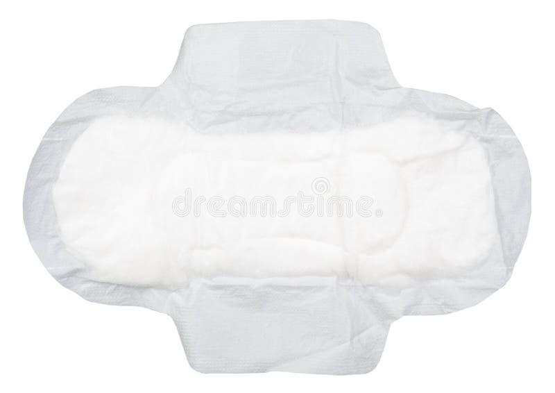Feminine pads. On white background stock images