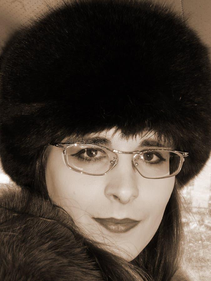 Feminine portrait royalty free stock images
