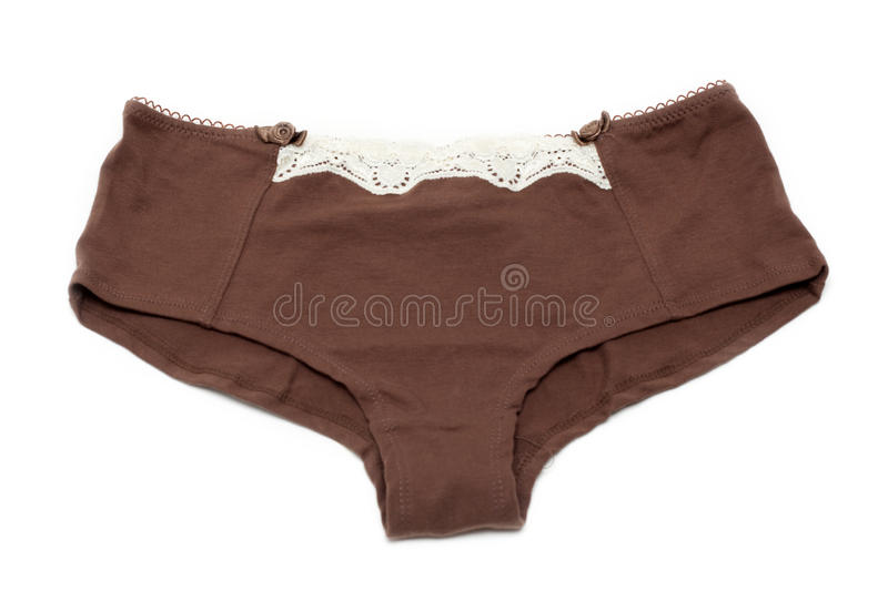 Feminine Underclothes, Brown Stock Photography