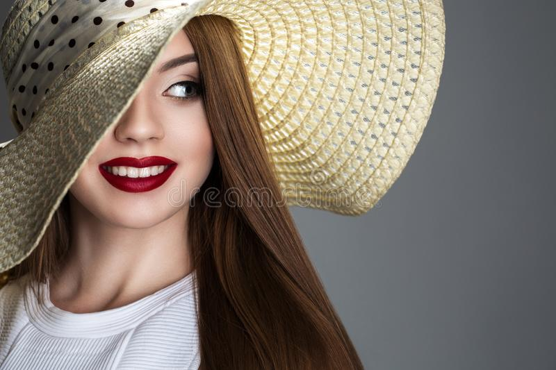 Femininity in accessories and look royalty free stock photos