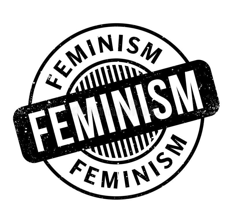 Feminismusstempel vektor abbildung