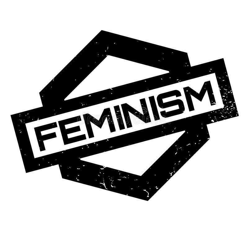 Feminismusstempel stock abbildung