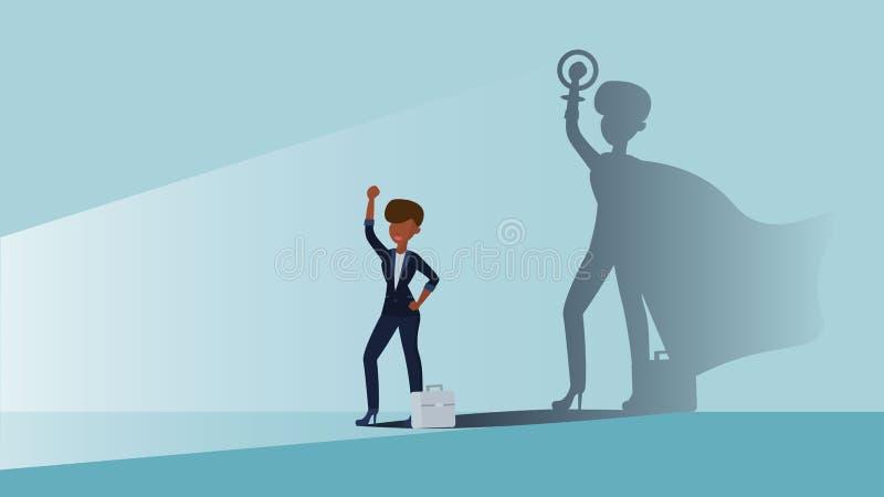 Feminizm kobiety biznes ilustracji
