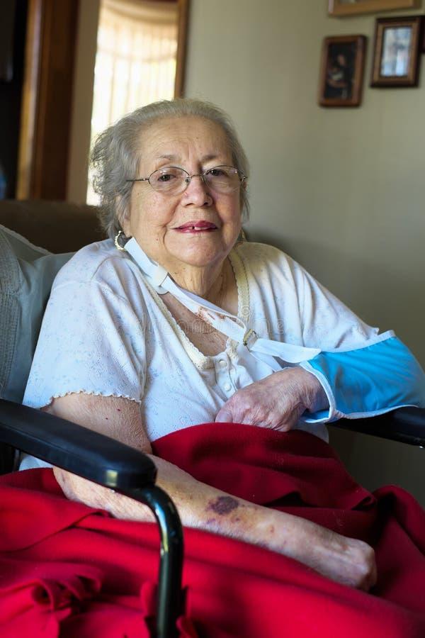 Femme âgée image stock