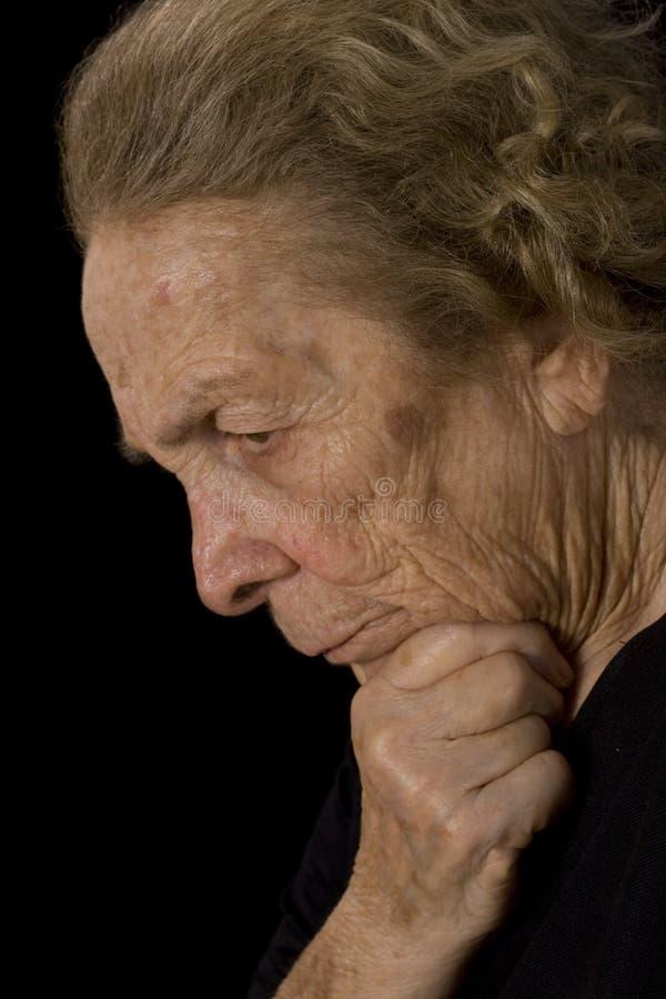 Femme âgée images libres de droits