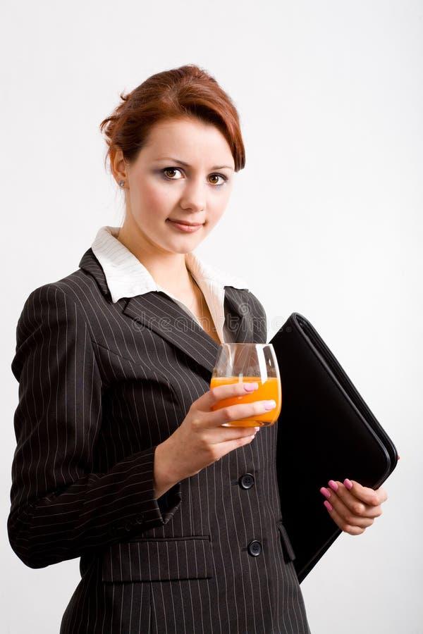 Femme 2 d'affaires image stock