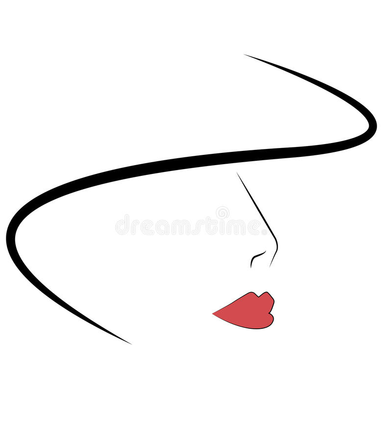 Download Femme stock vector. Image of fatale, retro, woman, beautiful - 28009258