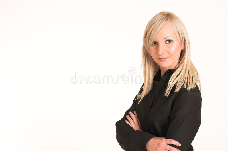 Femme #292 d'affaires photo stock