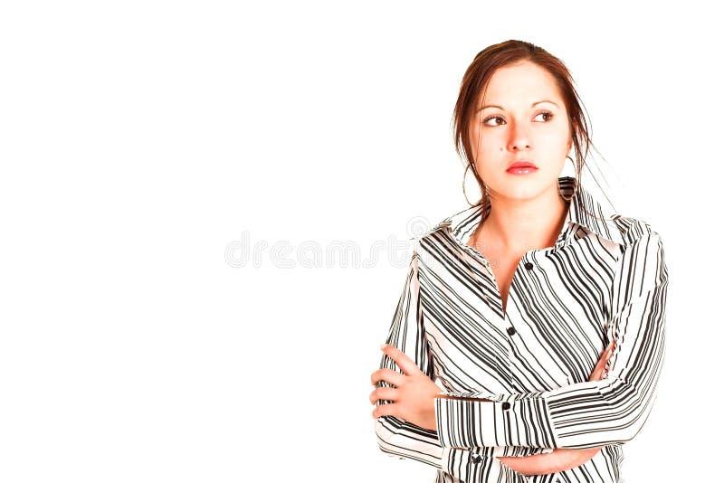 Femme #330 d'affaires image libre de droits