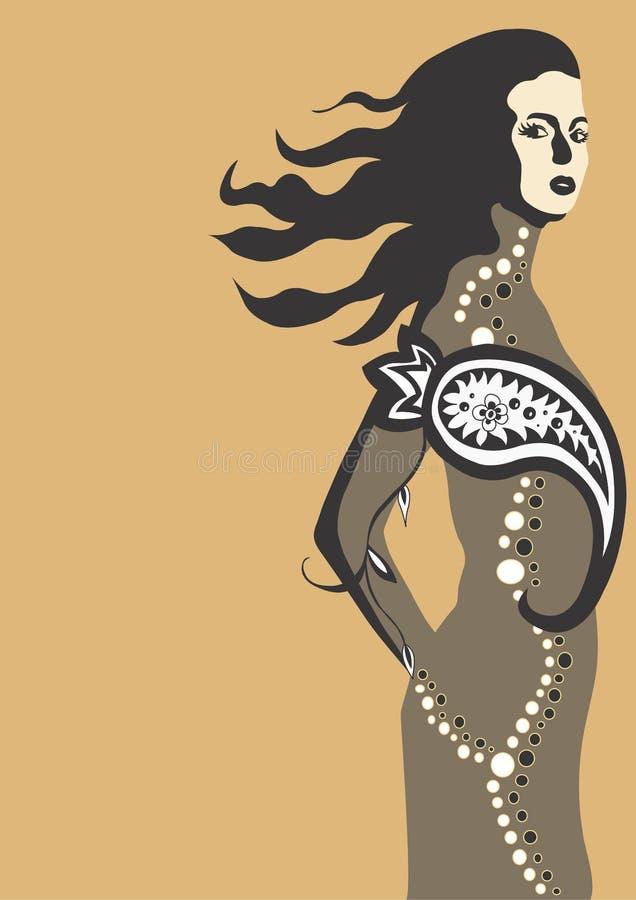 Femme illustration de vecteur