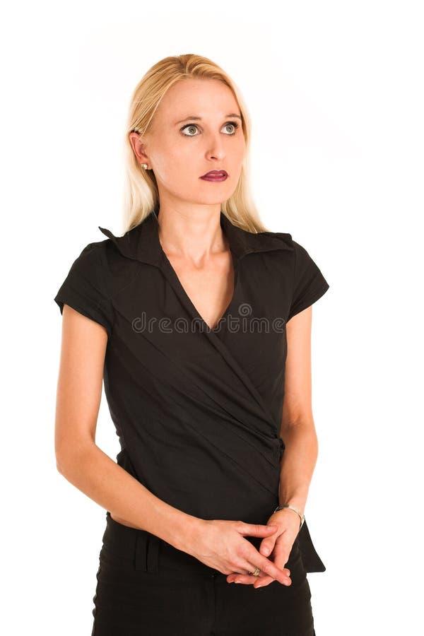 Femme #362 d'affaires image stock