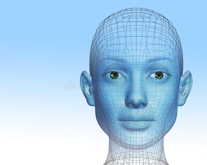 femme 3D illustration libre de droits