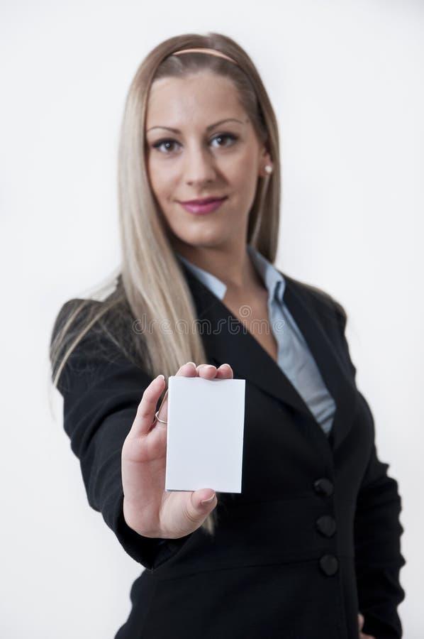 Femme #4 d'affaires images stock