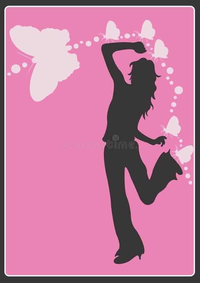 Femme illustration stock