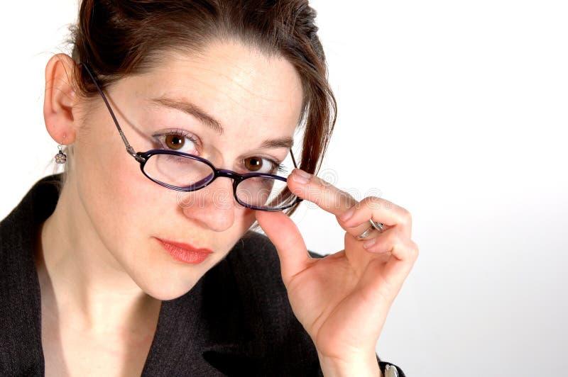 Femme 5 d'affaires photo libre de droits