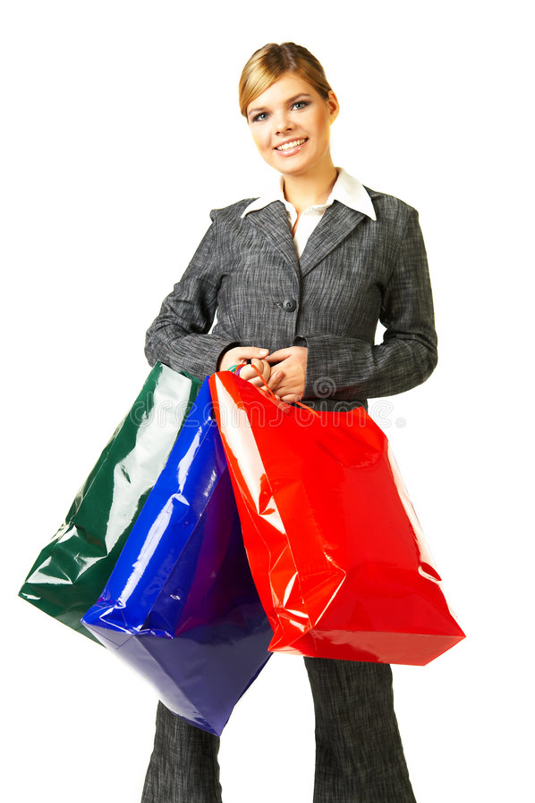 Femme 6 d'affaires photo libre de droits