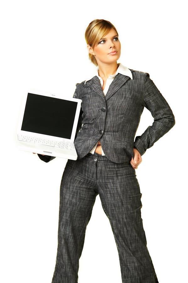 Femme 6 d'affaires photographie stock