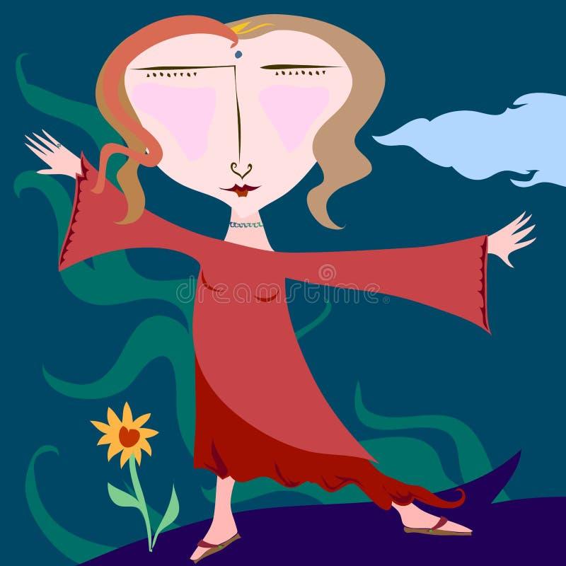 femme иллюстрация вектора